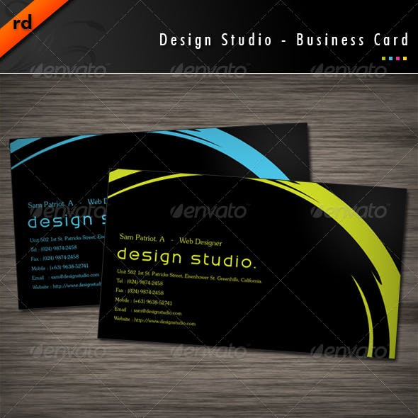 Design Studio - Business Card