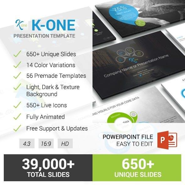 K-One Presentation Template