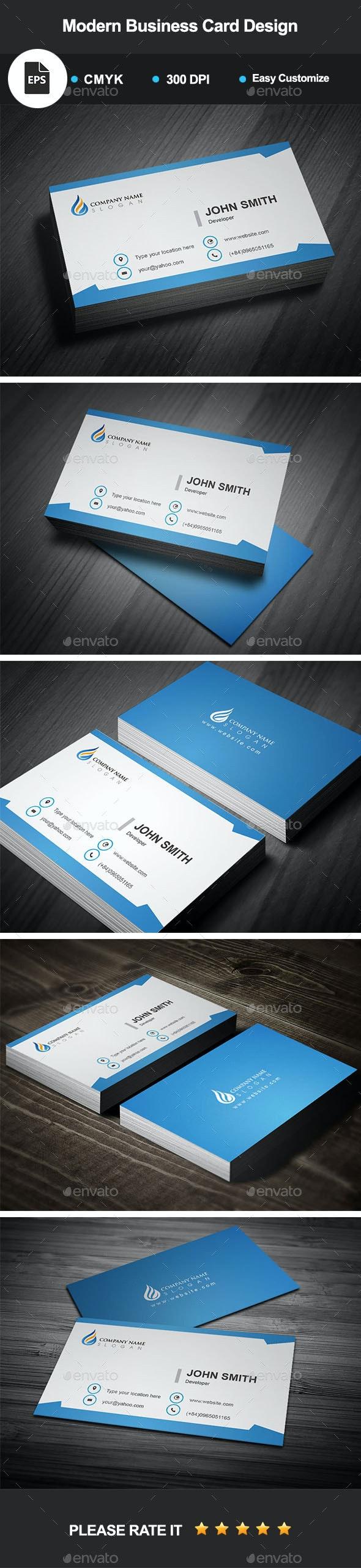 Modern Business Card Design - Creative Business Cards