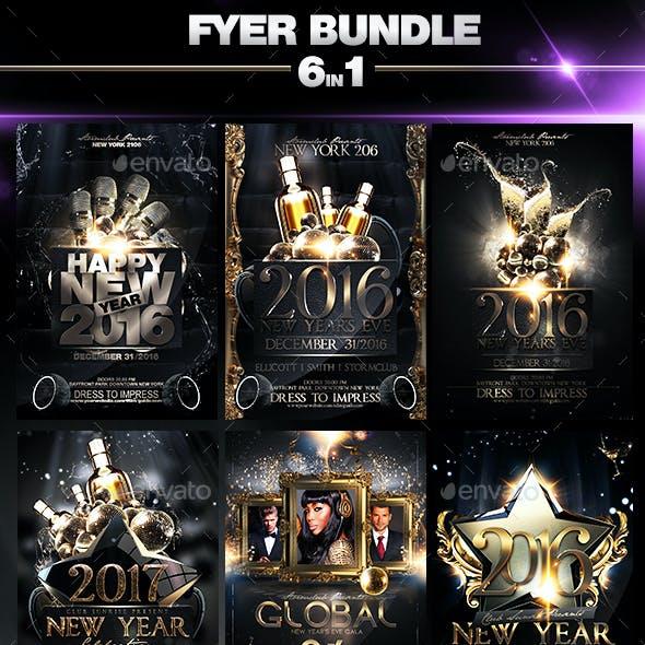 NYE Flyer Bundle V3