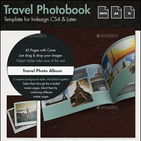InDesign Photobook Graphics, Designs & Templates