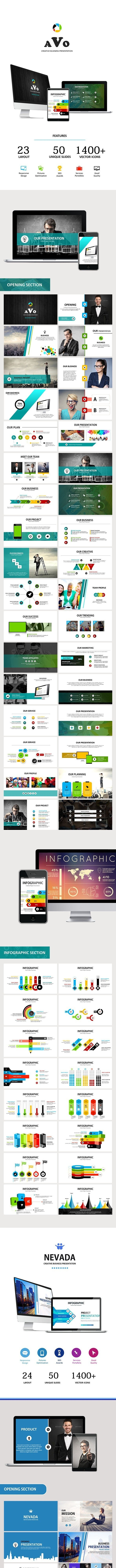 3 IN 1 - Powerpoint Business Presentation - Business PowerPoint Templates
