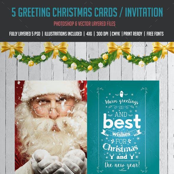 Christmas Card - Family