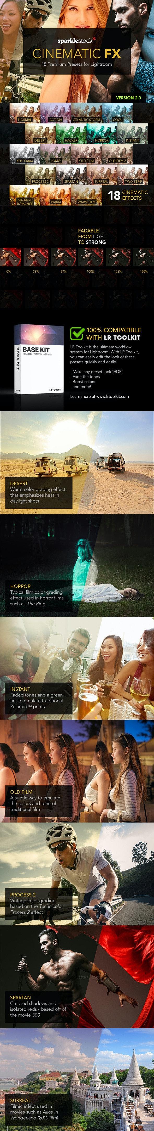 Cinematic FX for Lightroom