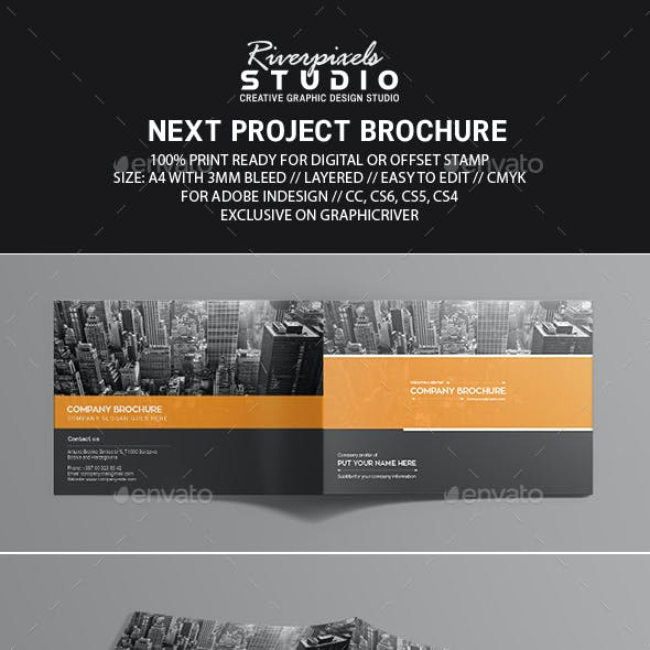 Next Project Brochure Template