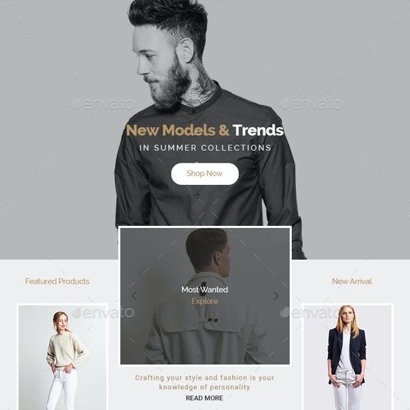 T Fashion E-Newsletter