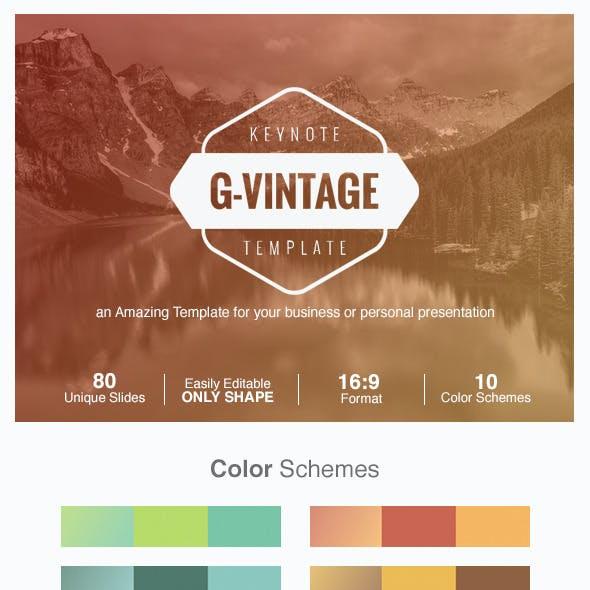 G-Vintage Presentation
