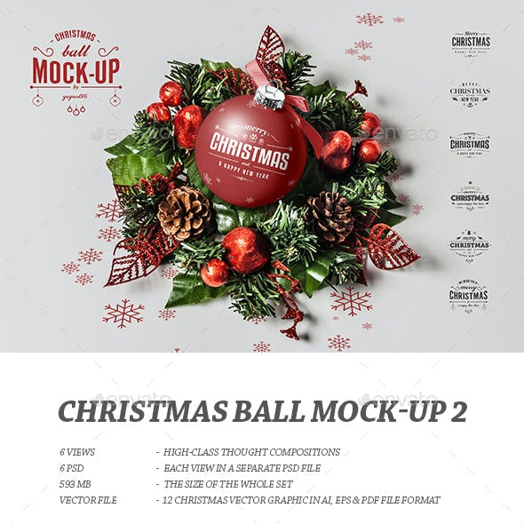 Christmas Ball Mock-up 2