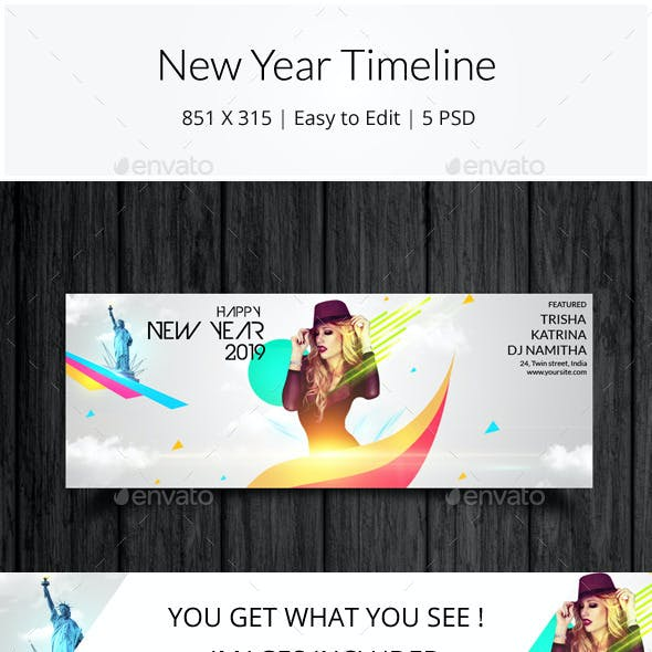 New Year Timeline