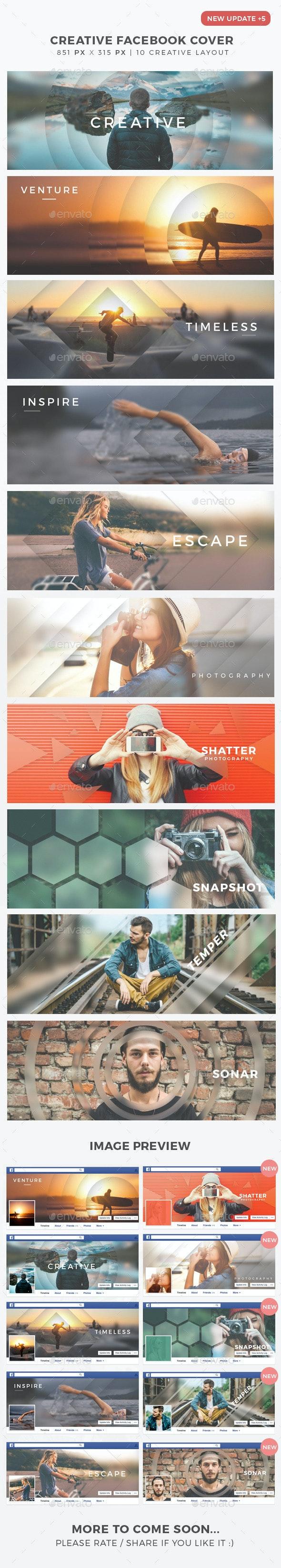 Creative Facebook Timeline Cover - Facebook Timeline Covers Social Media