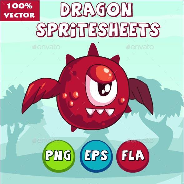 Dragon Game SpriteSheet