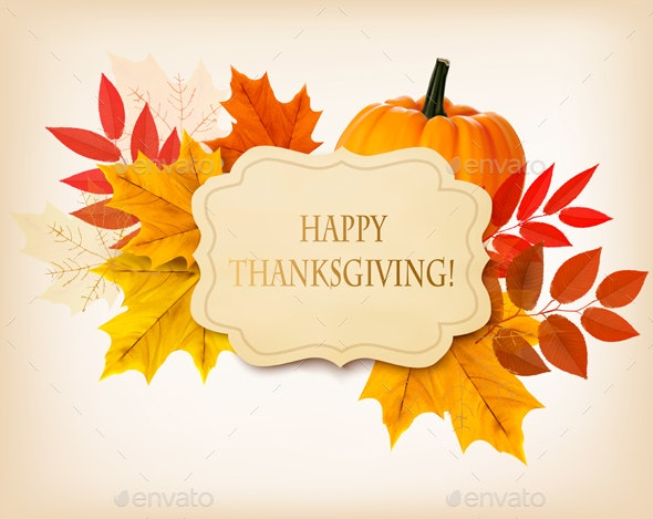 Happy Thanksgiving Background - Miscellaneous Seasons/Holidays
