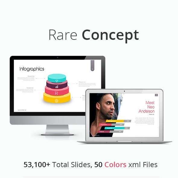 Rare Concept Power Point Presentation