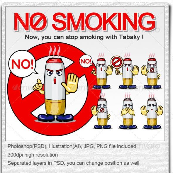 Smoking Campaign Character