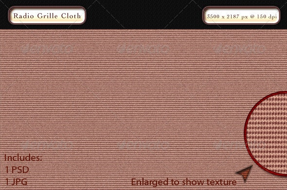 Radio Grille Cloth - Patterns Backgrounds