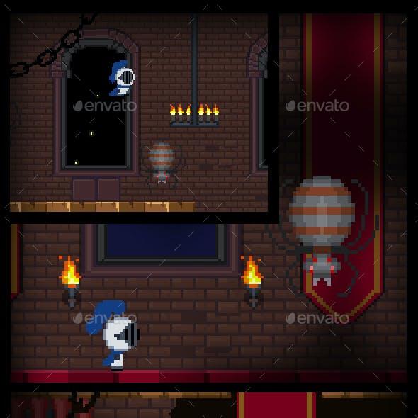 Pixel Castle Game Assets