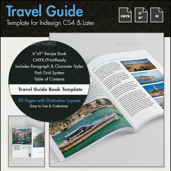 Travel Guide Template - 6x9in