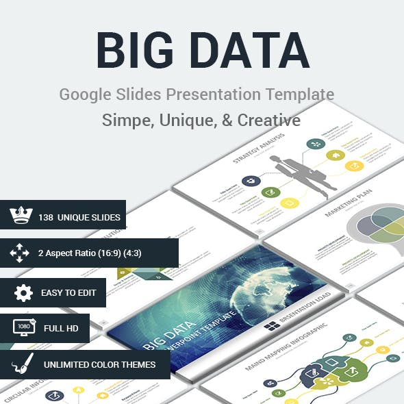 BIG DATAS Google Slides Presentation Template