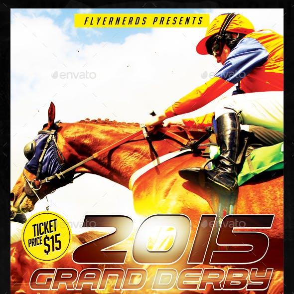 Grand Derby Championships 2015 Sports Flyer