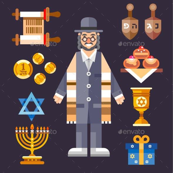 Hanukkah! Great World Wide Jewish Holiday.