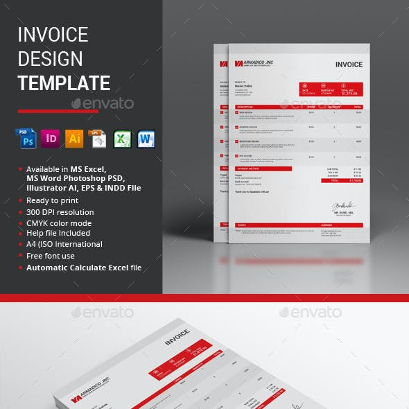 Invoice Desgin Template