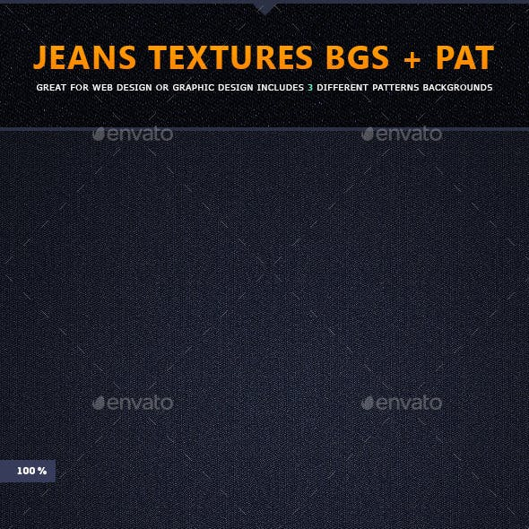 Jeans Textures Background