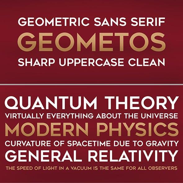 Geometos Font