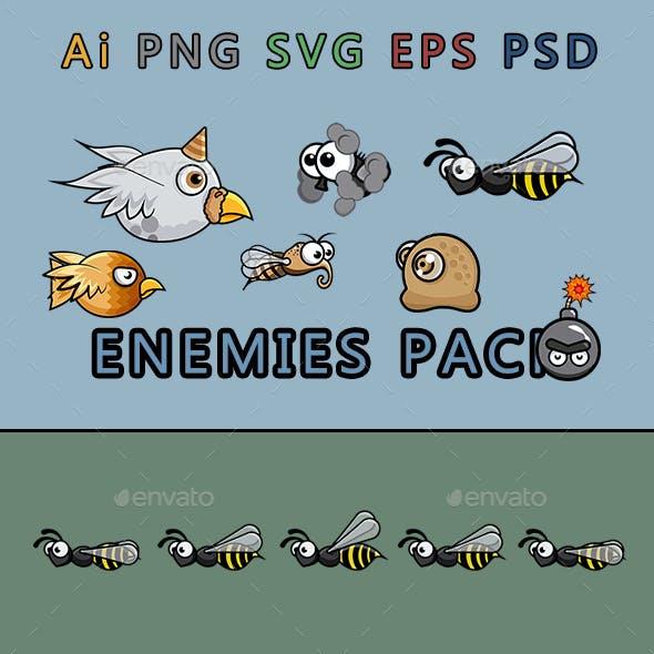 Enemies Pack