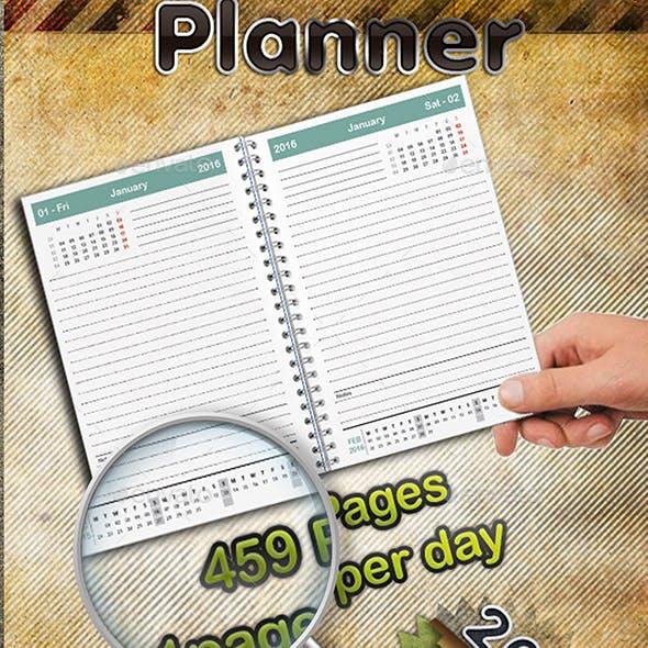 Planner 2016