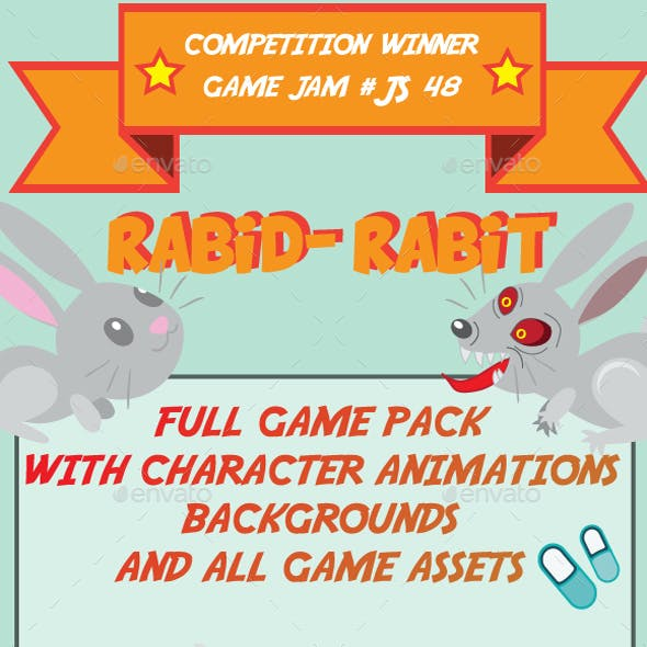 Rabid-Rabbit Game Pack