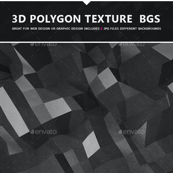 3D Polygon Texture Backgrounds