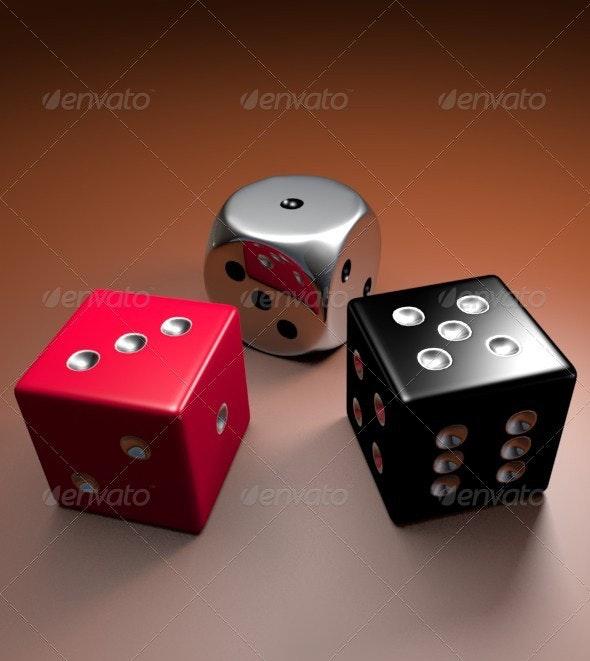 Dice 3D Models - Objects 3D Renders