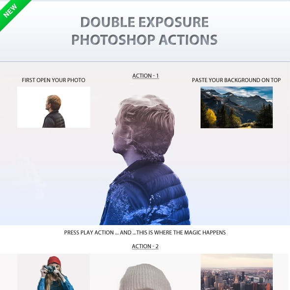 Double Exposure Action Pack