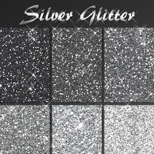 Silver Glitter Pack