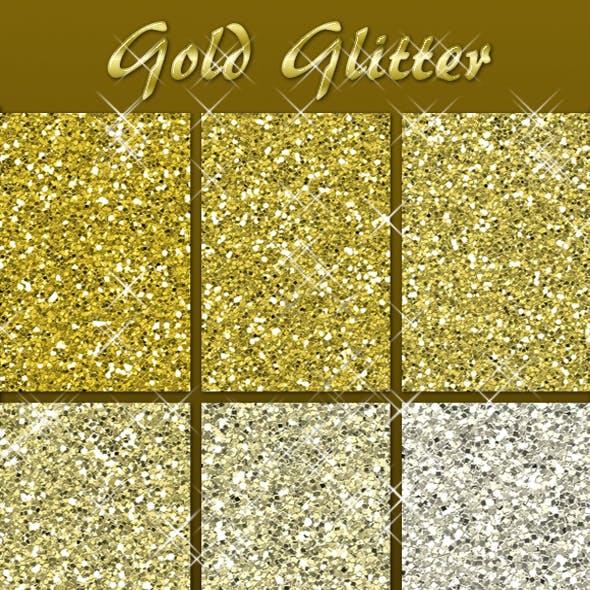 Gold Glitter Pack