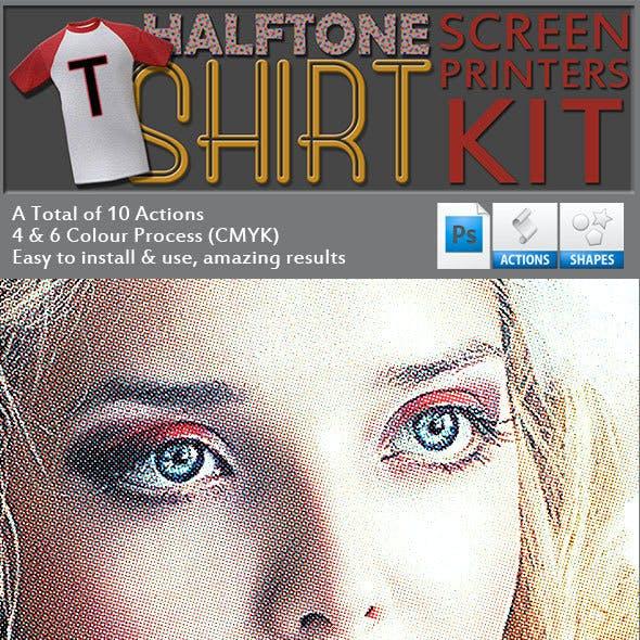 Halftone Screen Printers Kit