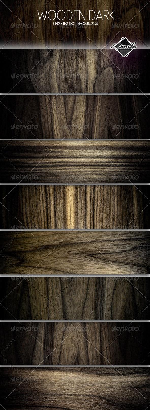 Wooden Dark - Wood background textures - Wood Textures