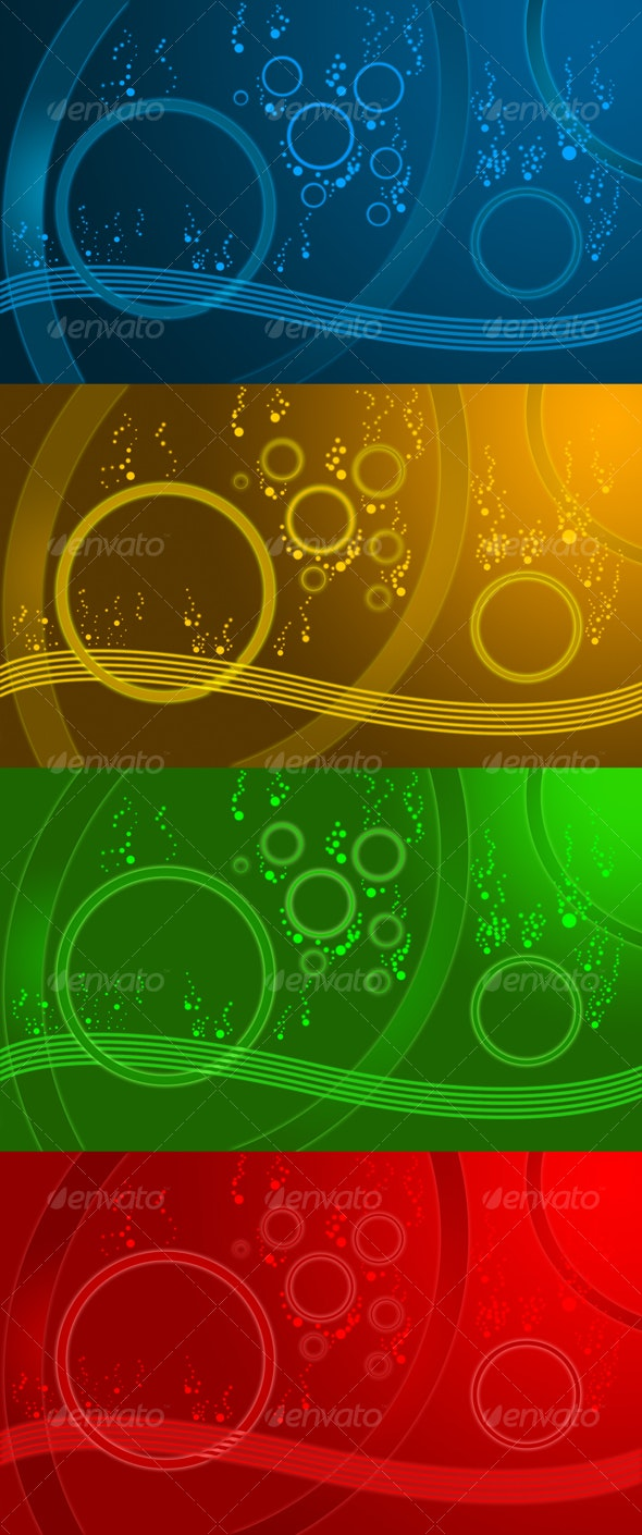 Bubbles Chaos - Abstract Backgrounds