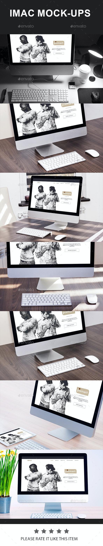 Mac Mock-Ups - Displays Product Mock-Ups