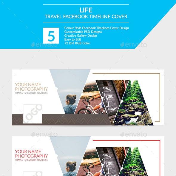 """Life"" Travel Facebook Timeline Cover"