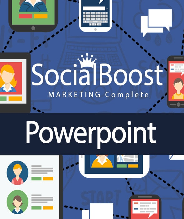 Facebook Marketing Powerpoint complete!!! - PowerPoint Templates Presentation Templates