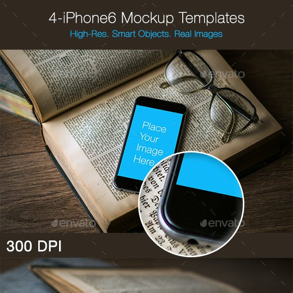 iPhone6 Mockup Template
