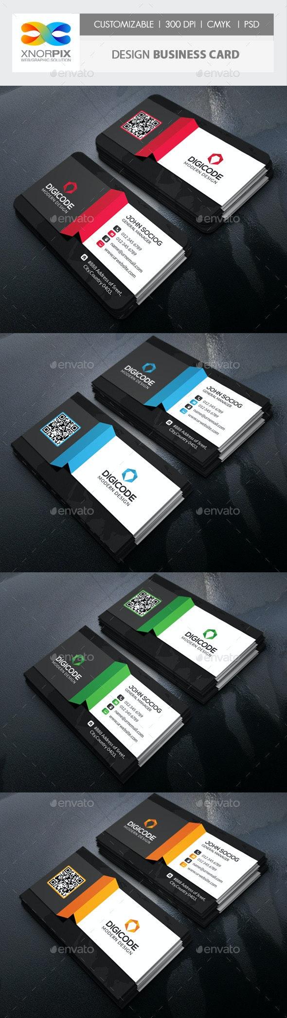 Design Business Card - Corporate Business Cards