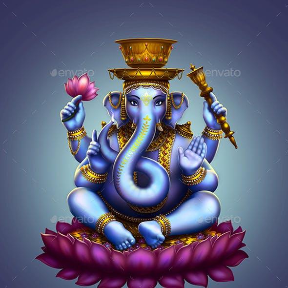 Ganesha hookah