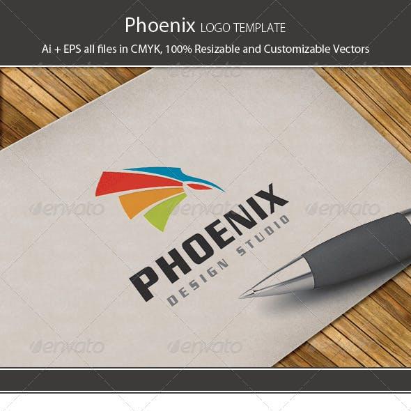 Phoenix Design Logo Template