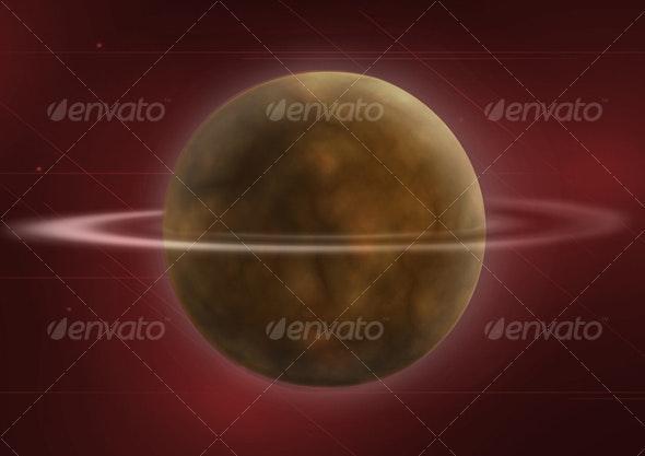 Space Planet - Tech / Futuristic Backgrounds