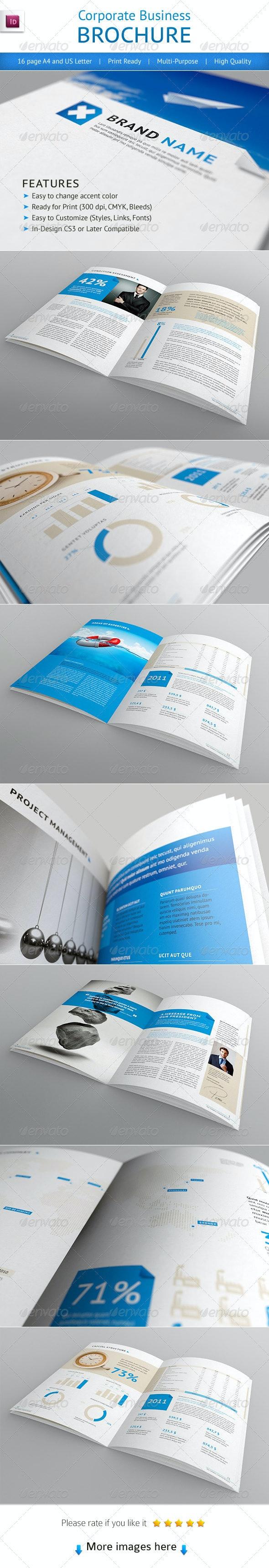 Professional Corporate Business Brochure - Corporate Brochures