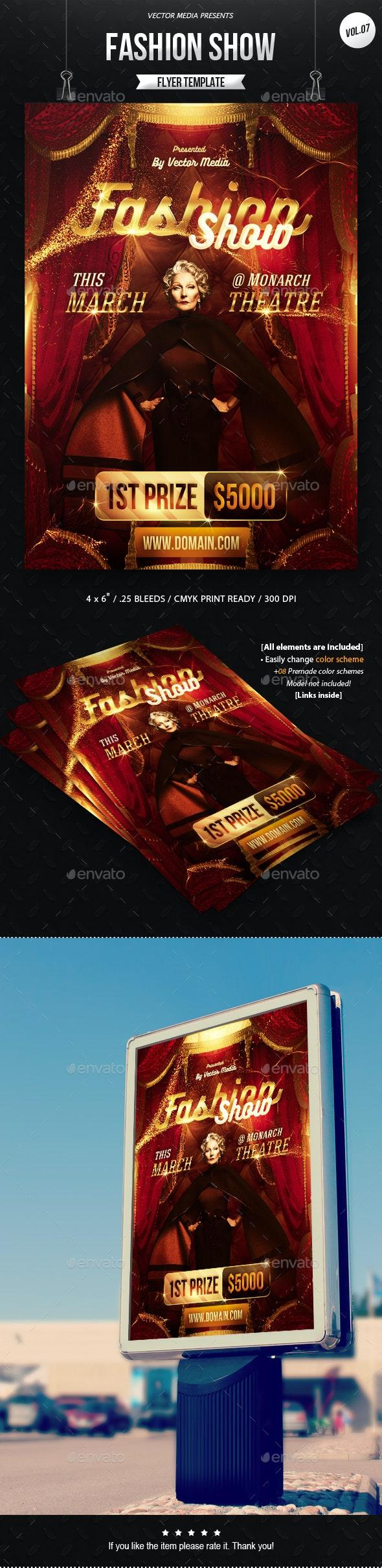 Fashion Show - Flyer [Vol.07] - Miscellaneous Events