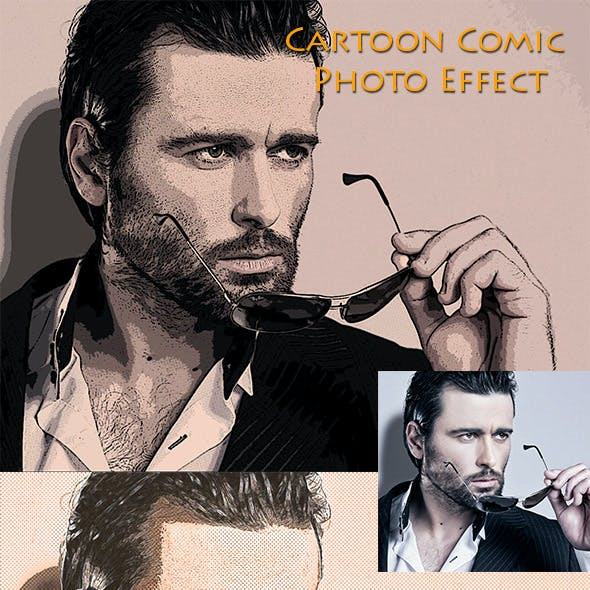 Cartoon Comic Photo Effect