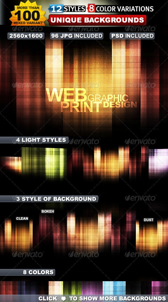 Massive Abstract Backgrounds - Backgrounds Graphics
